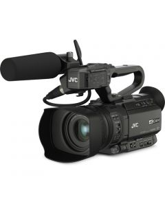 JVC GY-HM200HW 4KCAM Compact Handheld Camcorder